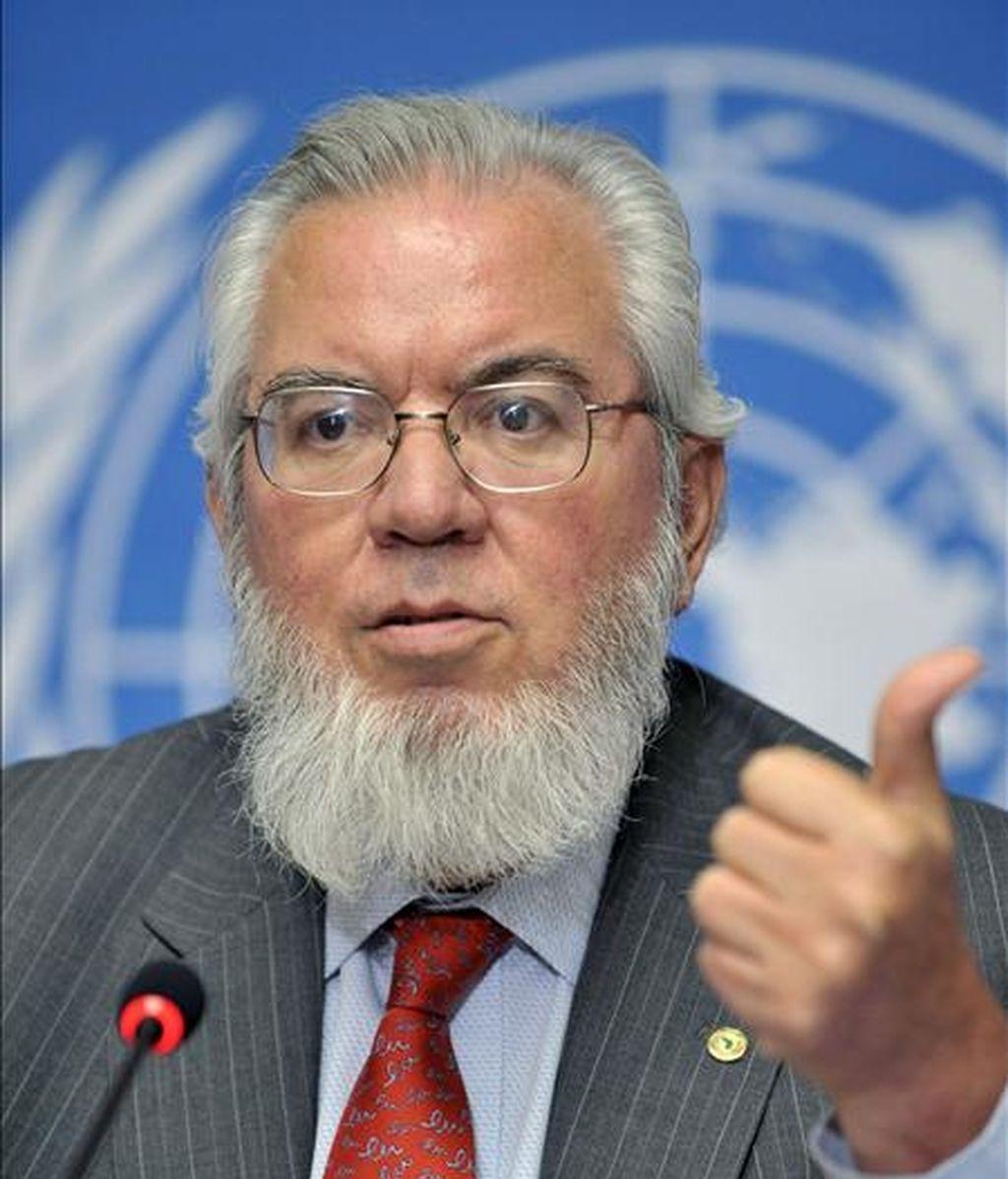 El director general de la Organización Internacional del Trabajo (OIT), el chileno Juan Somavia. EFE/Archivo