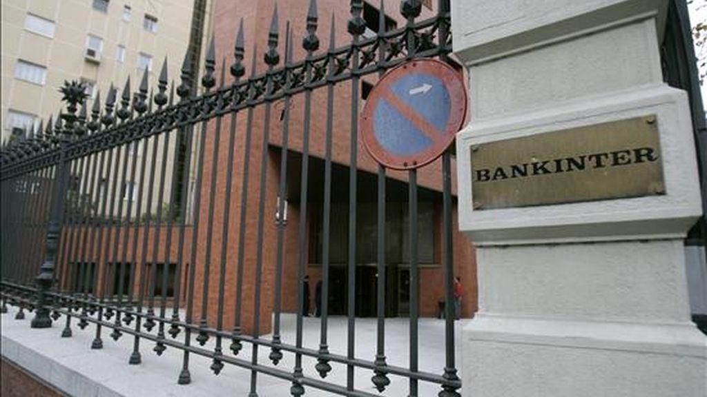 Sede de la Bankinter en Madrid. EFE/Archivo
