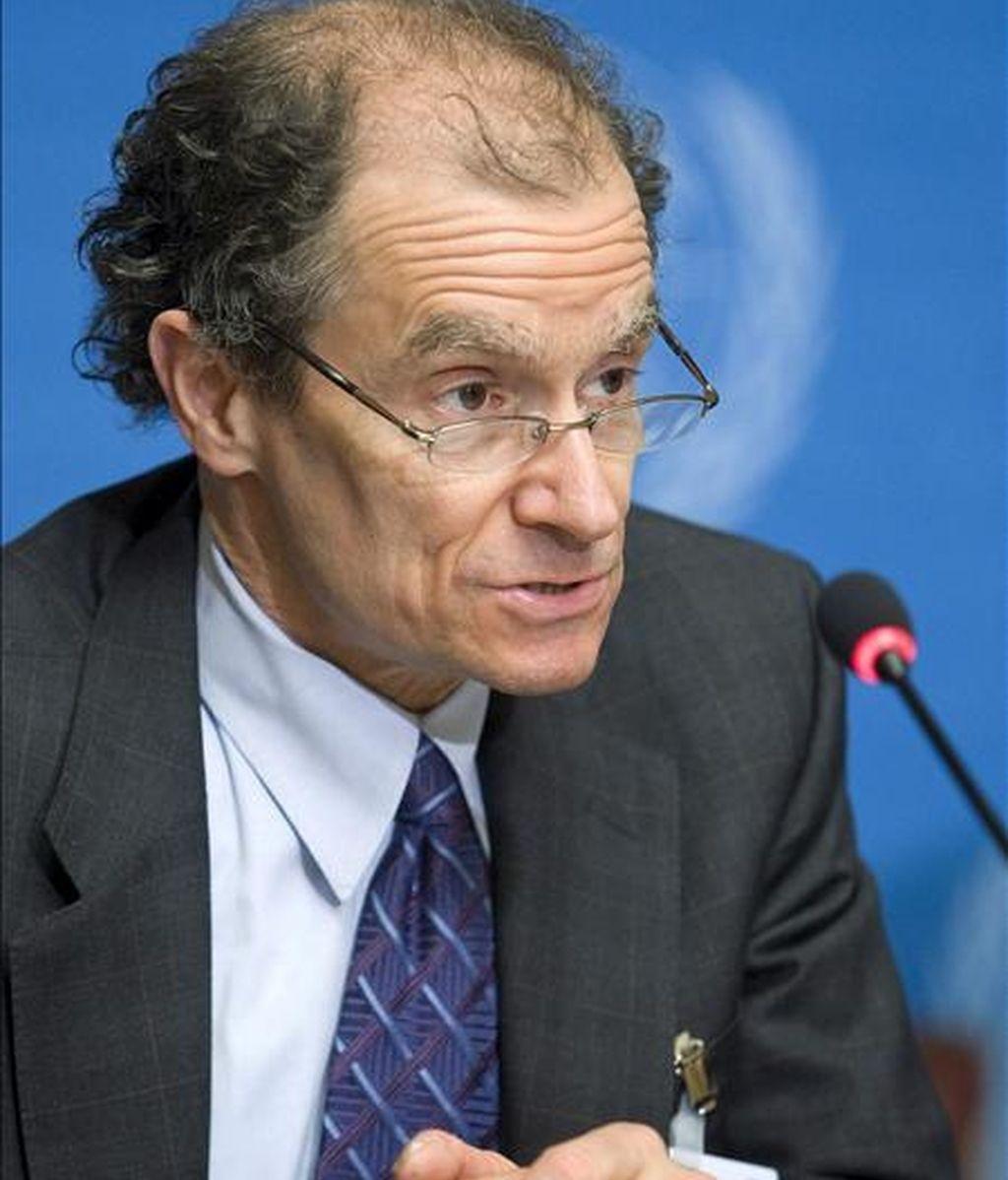 En la imagen, el enviado especial de Estados Unidos para el cierre de Guantánamo, Daniel Fried. EFE/Archivo