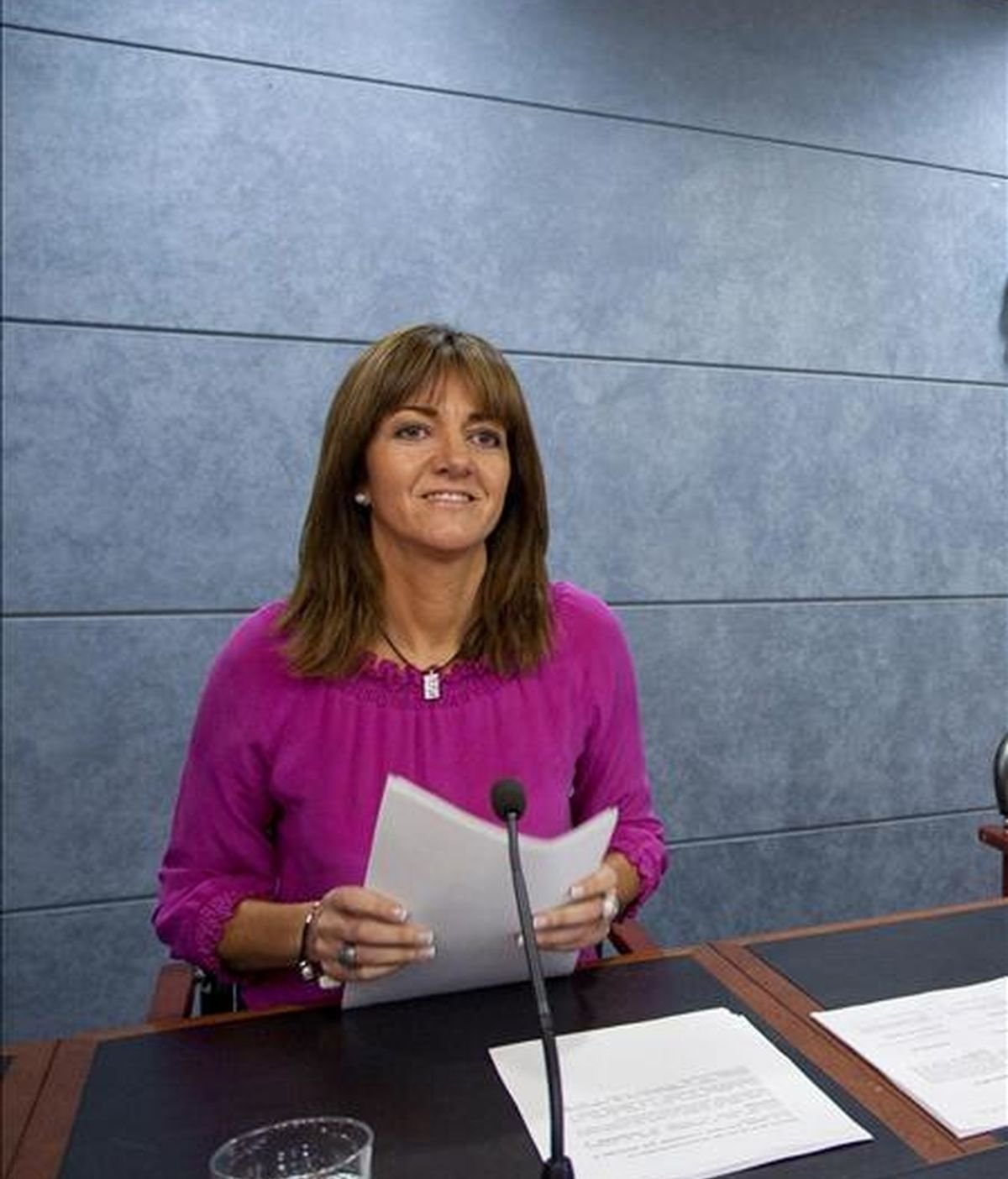 La a portavoz del Gobierno Vasco, Idoia Mendia. EFE/Archivo