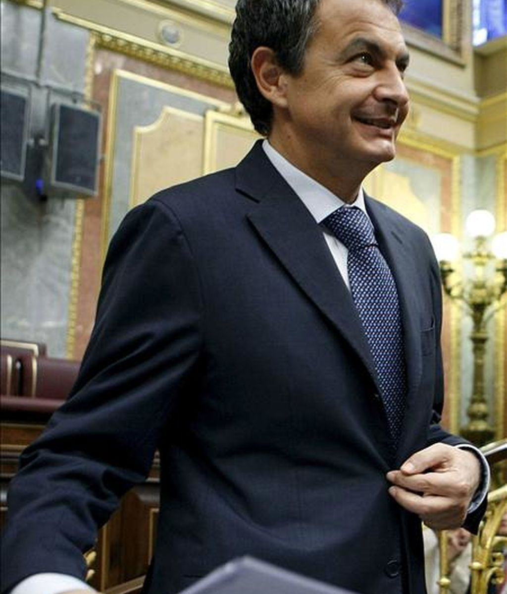 El presidente del Gobierno, José Luis Rodríguez Zapatero. EFE/Archivo