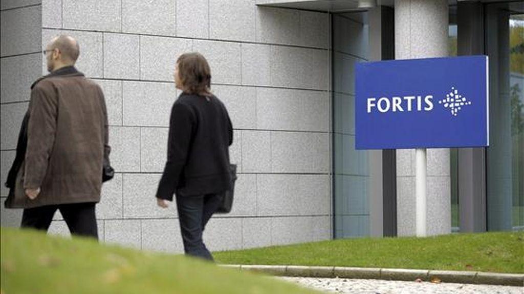 Vista de la sede del banco Fortis en Luxemburgo, Luxemburgo. EFE/Archivo