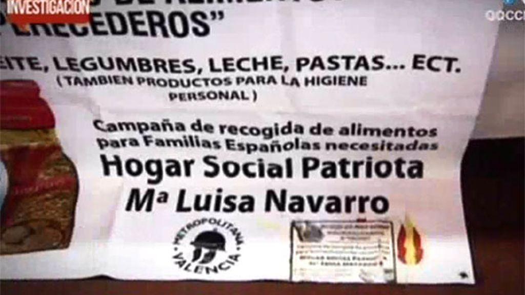 El grupo de ultraderecha España 2000 acoge a indigentes españoles a cambio del voto