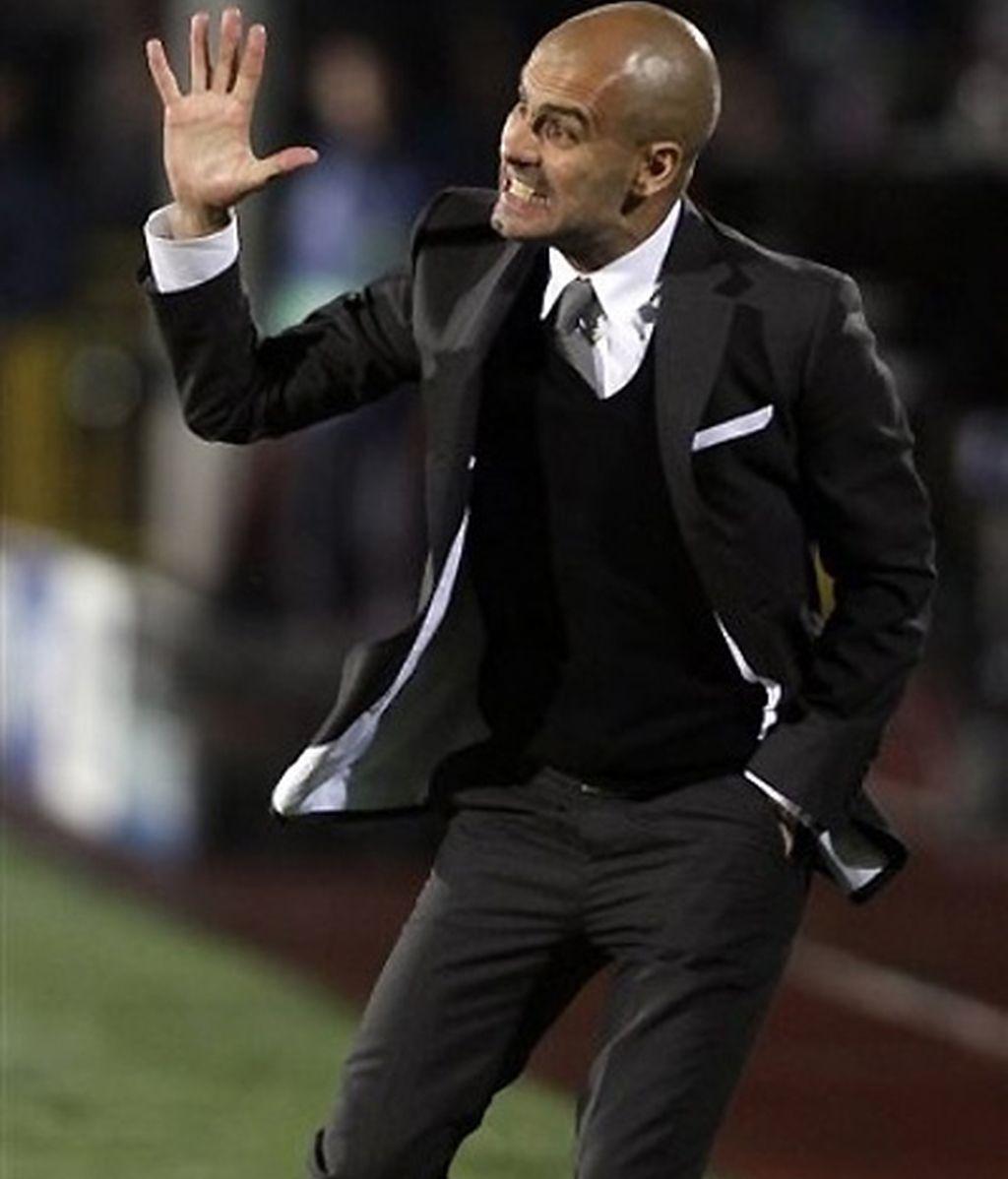 Pep Guardiola. FOTO: AP.
