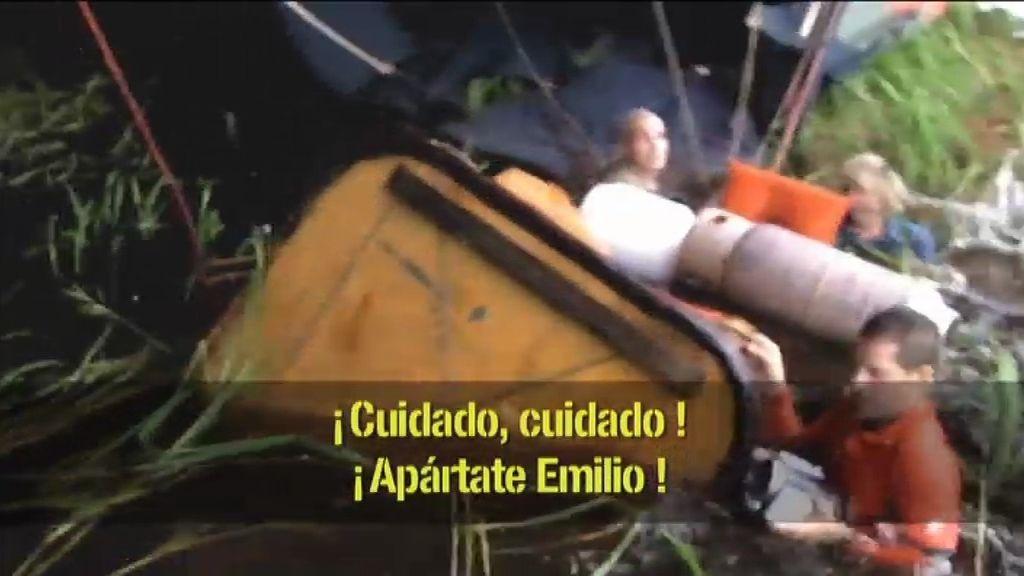 Grave accidente en el Amazonas