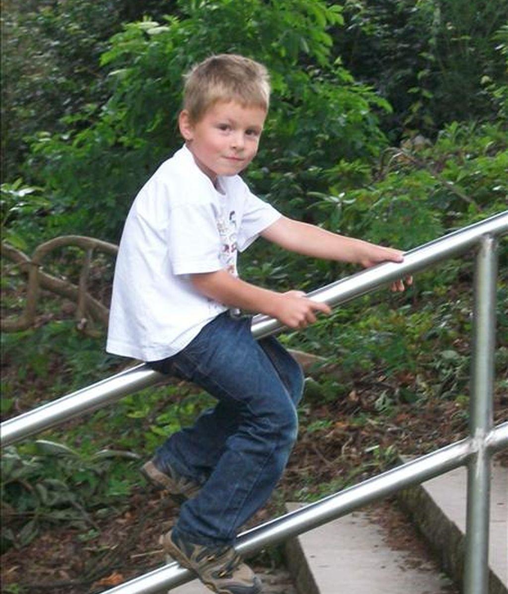 Fotografía cedida por la familia del niño alemán de cinco años fallecido en Espiel (Córdoba). EFE/Archivo