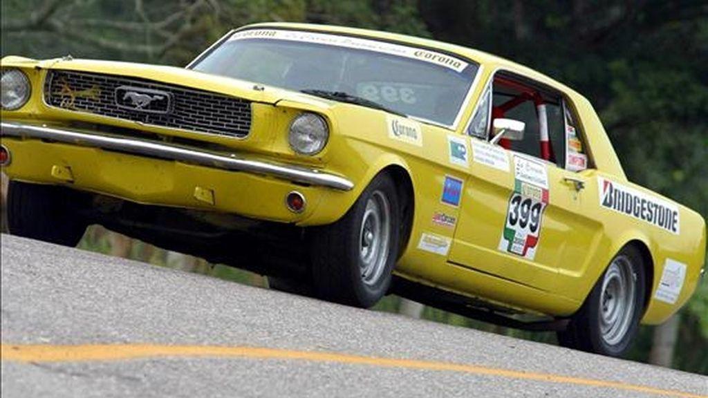 Ford y el Club Mustang de Estados Unidos han programado cuatro días de eventos en el Barber Motorsports Park, protagonizados por 2.500 propietarios de Mustang. EFE/Archivo