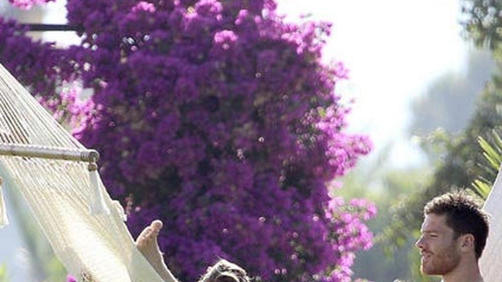 Xabi Alonso, padre de una niña
