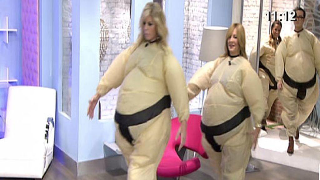 Lucha de sumo en 'AR'