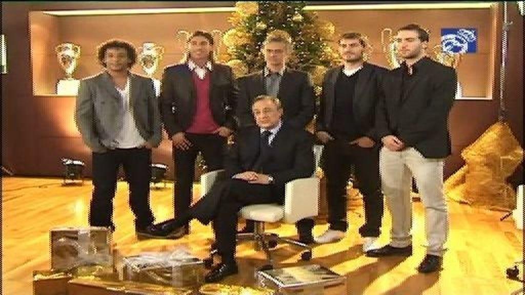 El Real Madrid felicita la Navidad a sus aficionados