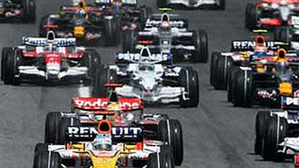Salida del pasado Gran Premio de España. FOTO: Archivo.