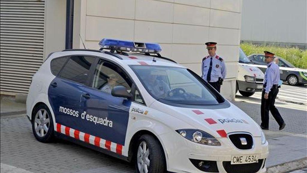 Un coche de los Mossos en un suceso. EFE/Archivo