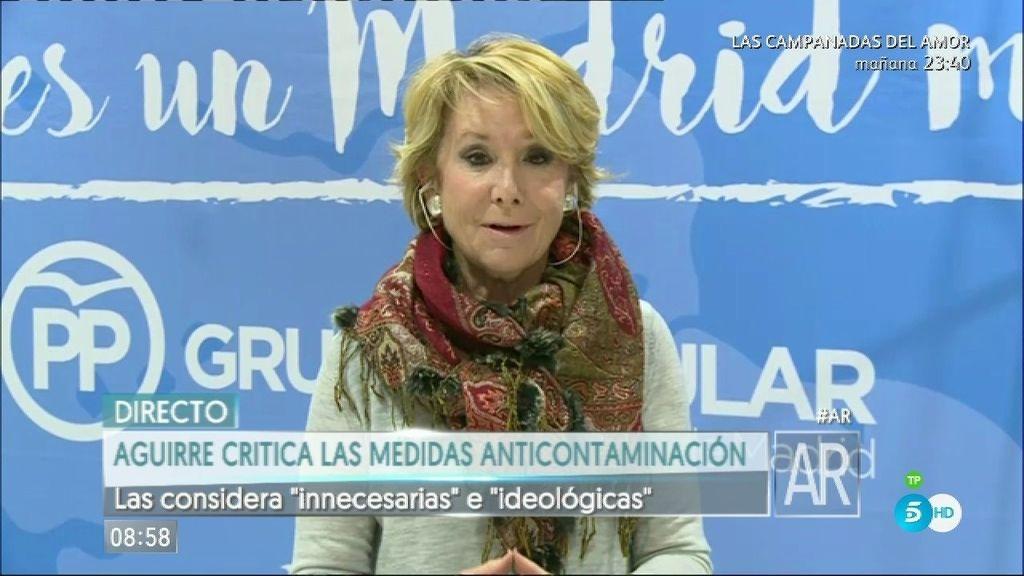 """Aguirre: """"Hay que incentivar la limpieza del aire y dejarse de tantas prohibiciones"""""""