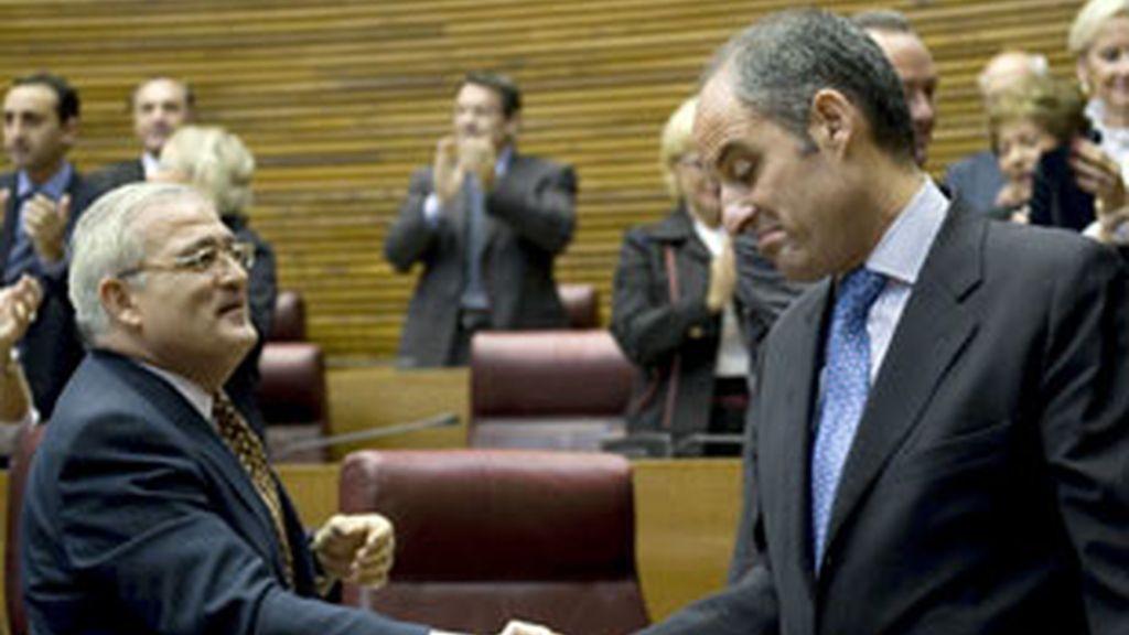 """Camps asegura que los jefes de la trama Gürtel son """"amigos de Moncloa"""". Vídeo: ATLAS."""