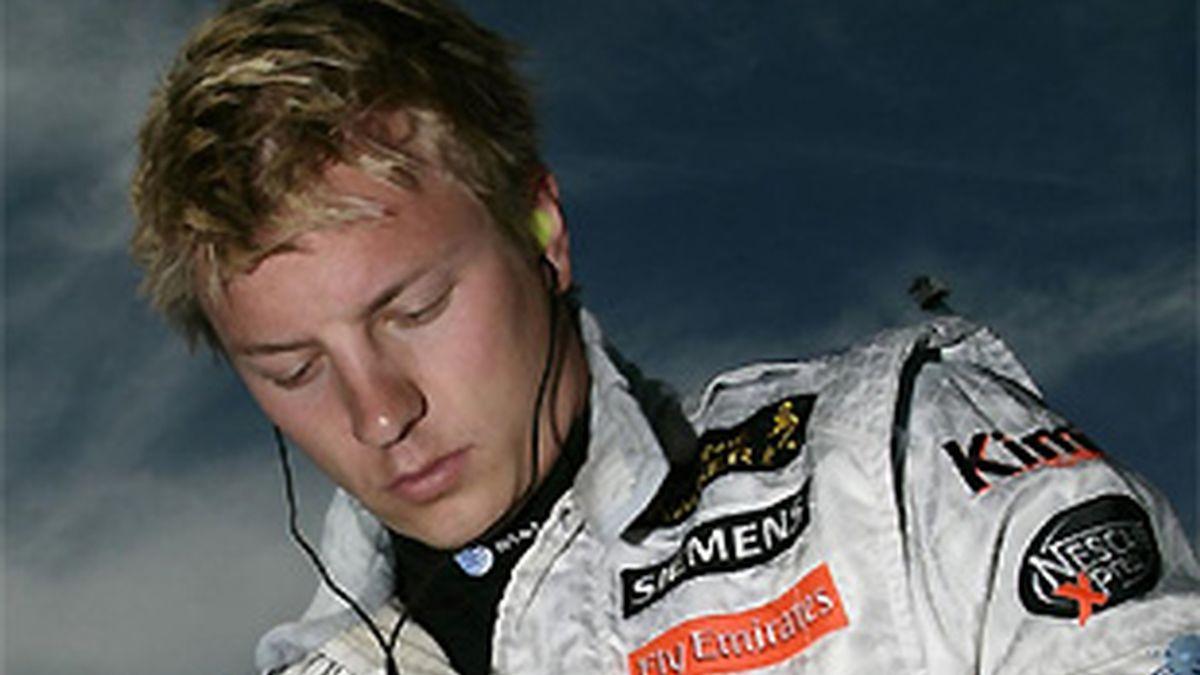 Raikkonen, durante su etapa en McLaren. FOTO: Archivo.