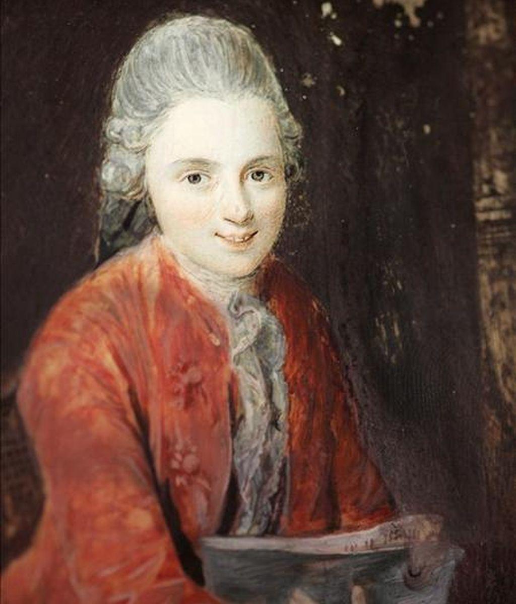 Un retrato del músico y compositor Wolfgang Amadeus Mozart. EFE/Archivo