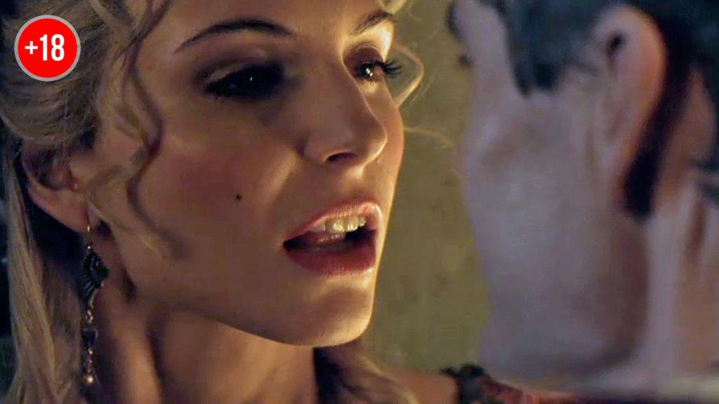 Ilithya quiere ganar poder en Roma con sus favores sexuales