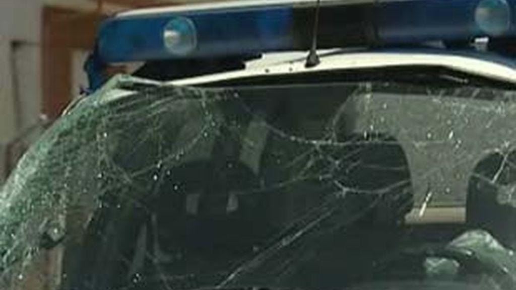 Uno de los coches que la Guardia Civil utilizó para seguir a Ricardo, el enfermo fallecido.