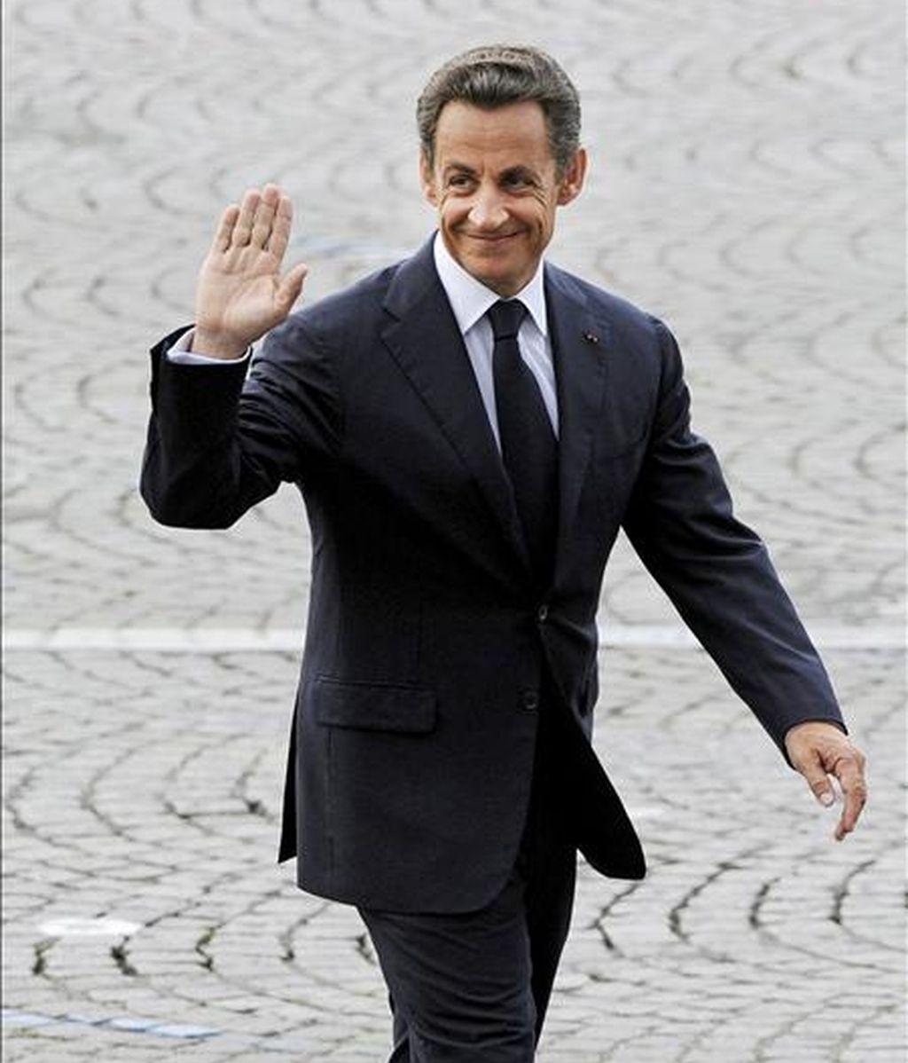 El presidente de Francia Nicolás Sarkozy. EFE/Archivo