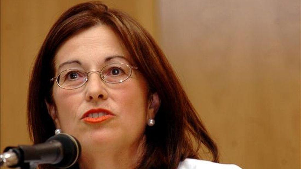 La ex diputada del PSOE por Cádiz Carmen Romero, quien formará parte de la candidatura de los socialistas para las próximas elecciones europeas. EFE/Archivo