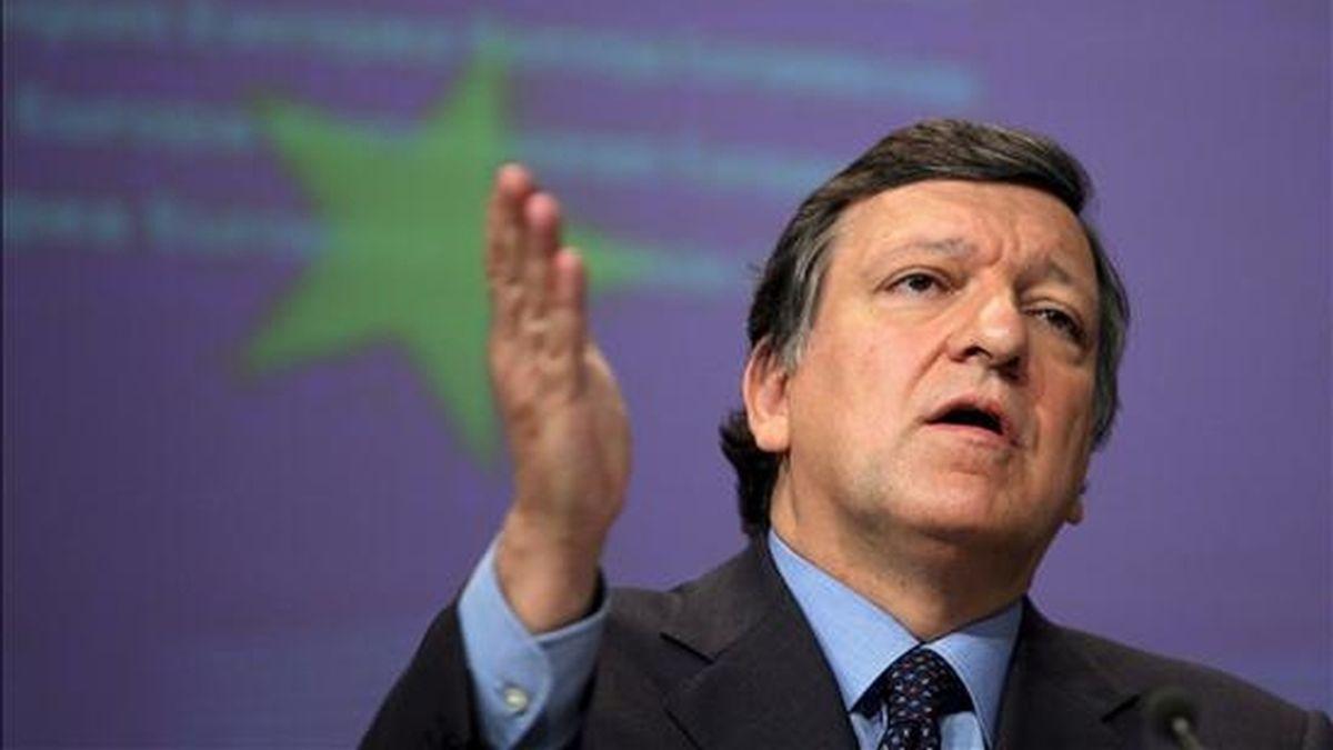 El presidente de la Comisión Europea, Jose Manuel Durao Barroso. EFE/Archivo