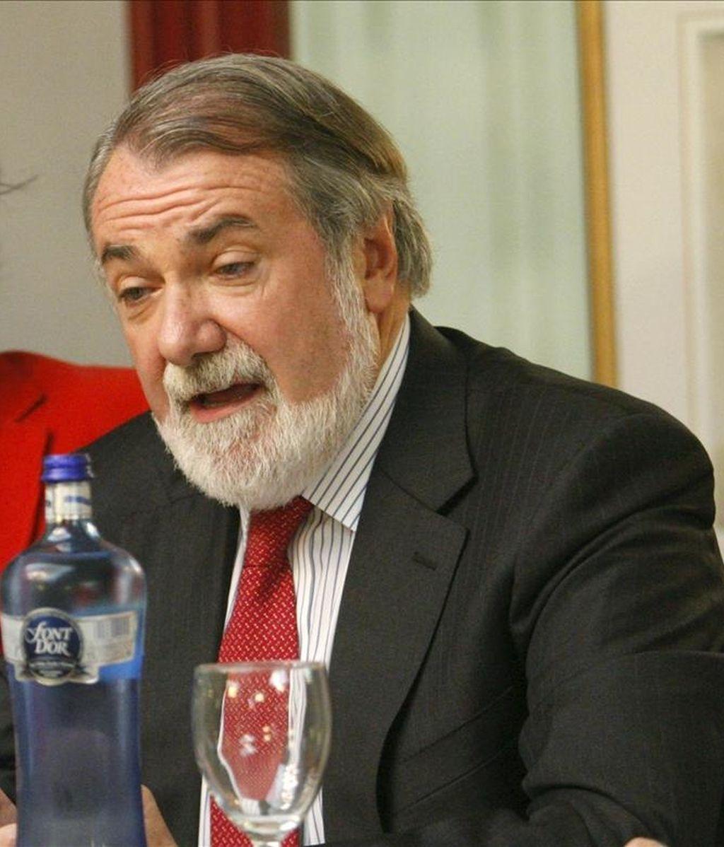 El eurodiputado del PP y exministro del Interior Jaime Mayor Oreja. EFE/Archivo