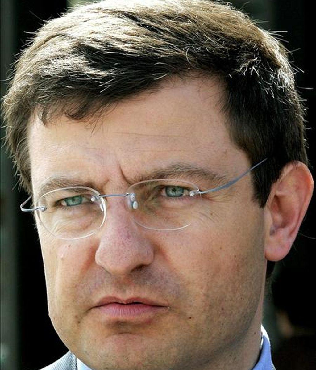 Fotografía de archivo del hasta ahora eurodiputado de CiU Ignasi Guardans. EFE/Archivo