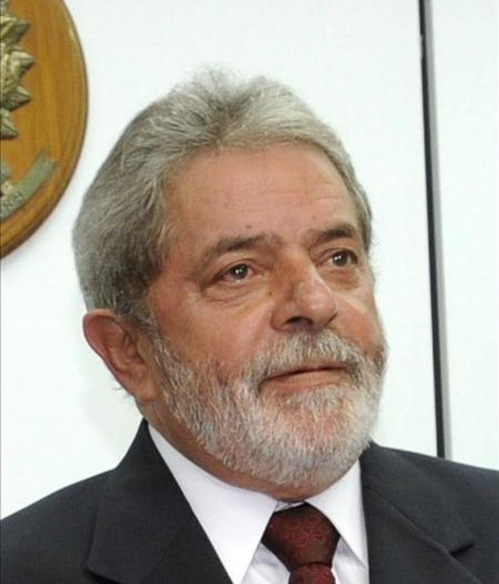 En la imagen, el presidente brasileño, Luiz Inácio Lula da Silva. EFE/Archivo