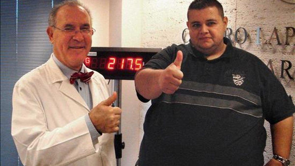Gustavo Moreno no respondía a ningún tratamiento endocrino ni farmacológico. Vídeo: Informativos Telecinco.