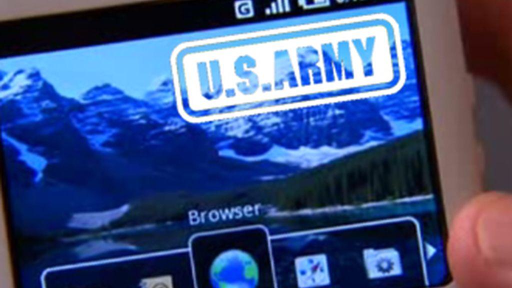 Los ingenieros militares desarrollarán un software que permitiría a los soldados localizar a los enemigos en el terreno circundante mediante un teléfono con sistema operativo Android.