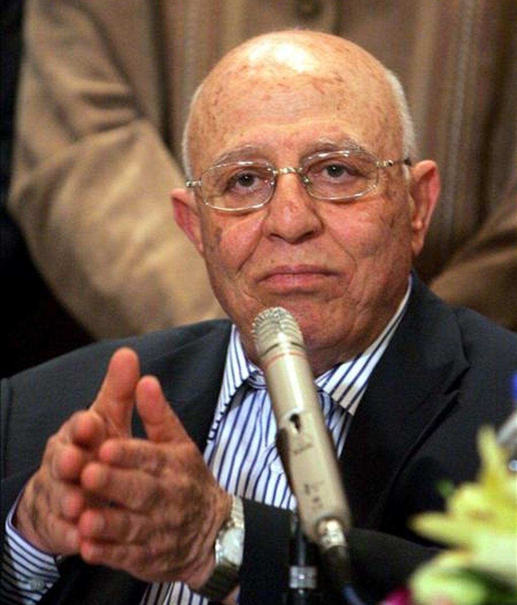 El ex primer ministro de la Autoridad Nacional Palestina (ANP) y jefe del equipo negociador palestinos, Ahmed Qurea. EFE/Archivo