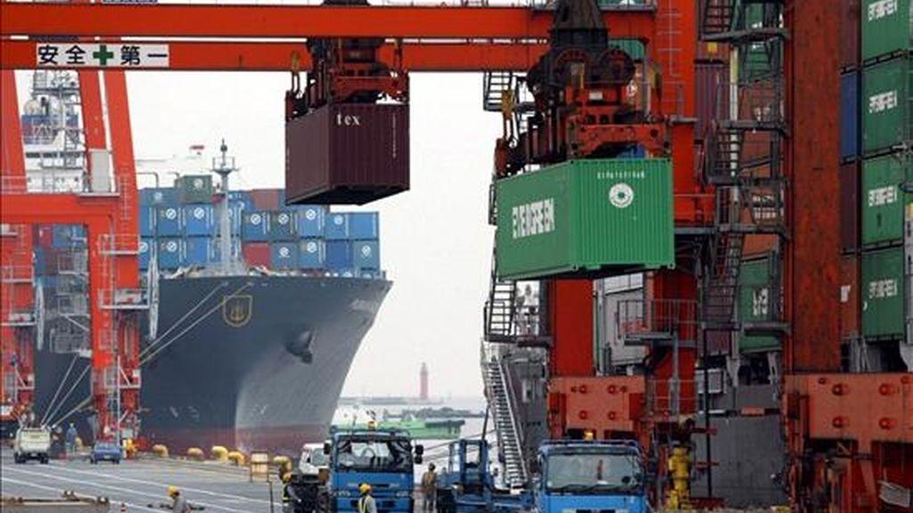 En 2007 América Latina y el Caribe habían obtenido un superávit comercial de 101.967 millones de dólares en el intercambio de bienes con EE.UU. EFE/Archivo