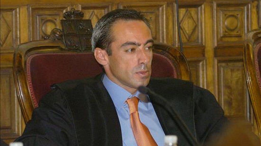 El juez Francisco Javier de Urquía, para quien el CGPJ ha dispuesto que pierda su plaza en el juzgado 2 de Marbella. EFE/Archivo