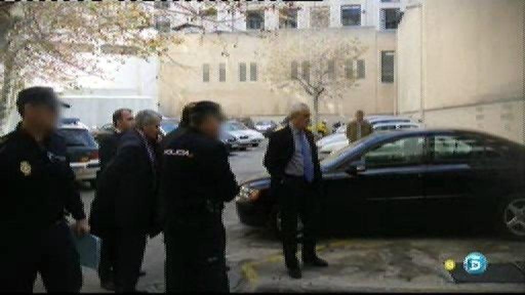 Un empleado de la Casa Real ha estado en los juzgados de Palma para determinar cómo entraría Urdangarín