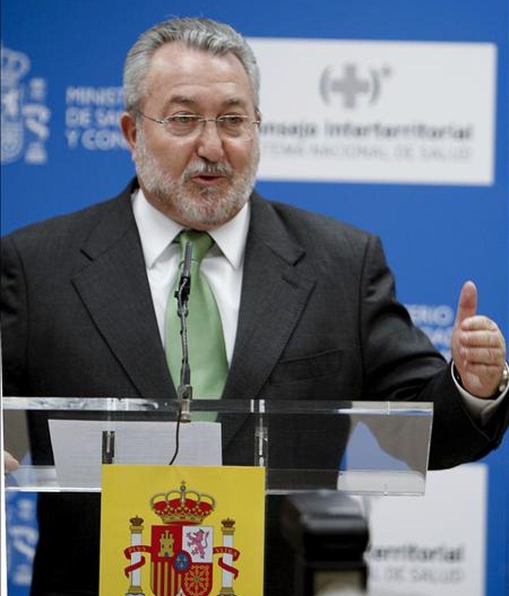 El ministro de Sanidad, Bernat Soria. EFE/Archivo