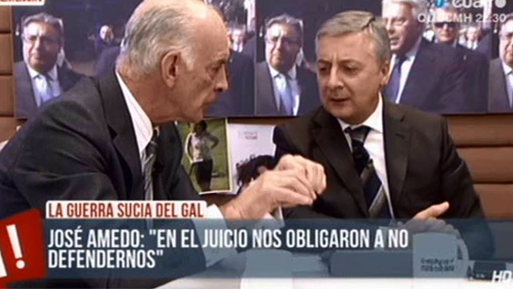 """José Amedo, a Blanco: """"Tu gobierno ha sido el mayor traidor de la democracia española"""""""