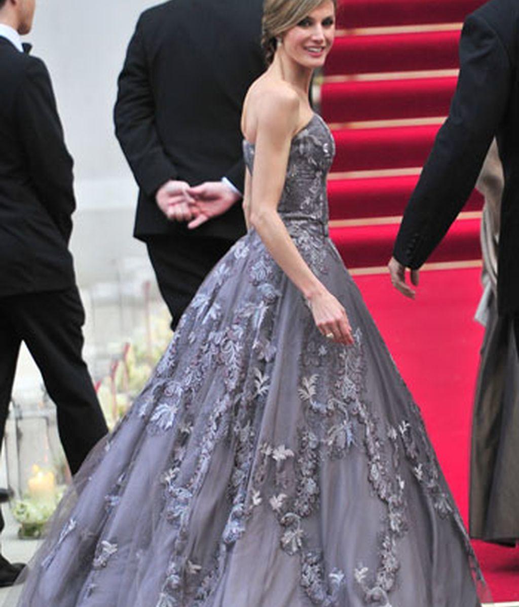 La cena de gala previa al enlace de Kate Middleton y el príncipe Guillermo