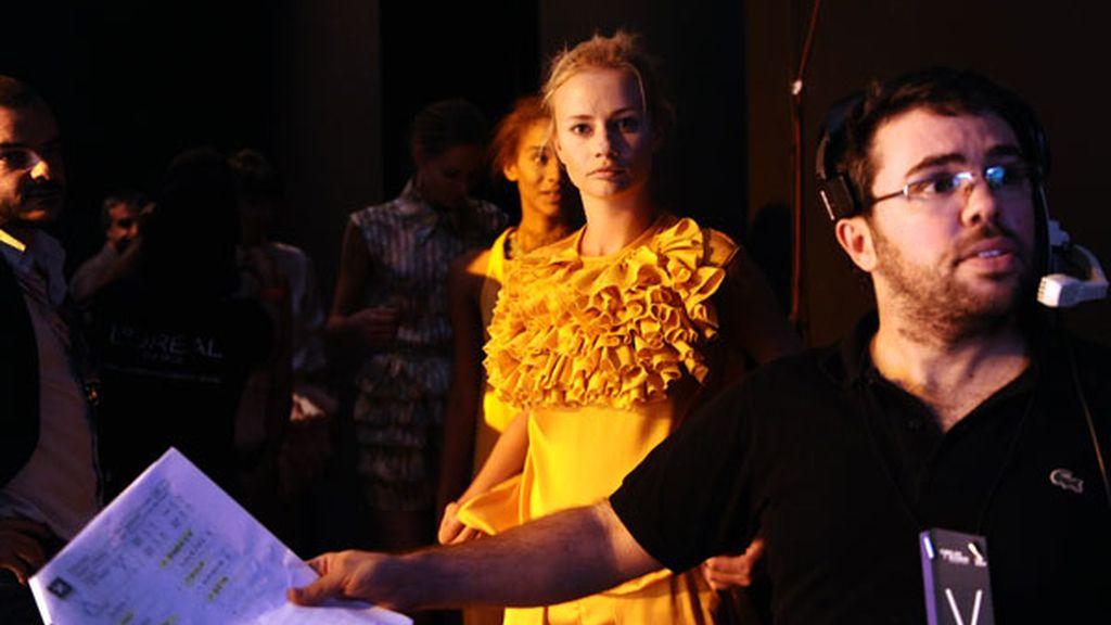 Cibeles: Backstage