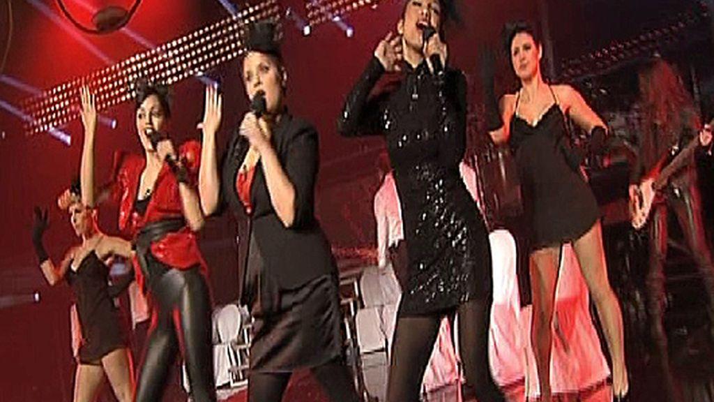 Nicco, Moneiba y Alexandra