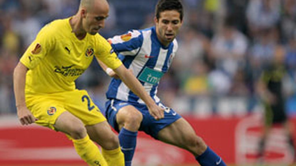 Borja Valero en el partido de ida ante el Oporto. Foto: Gtres