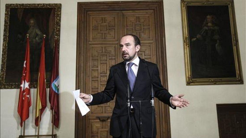 El delegado madrileño de Economía y Participación Ciudadana, Miguel Ángel Villanueva. EFE/Archivo