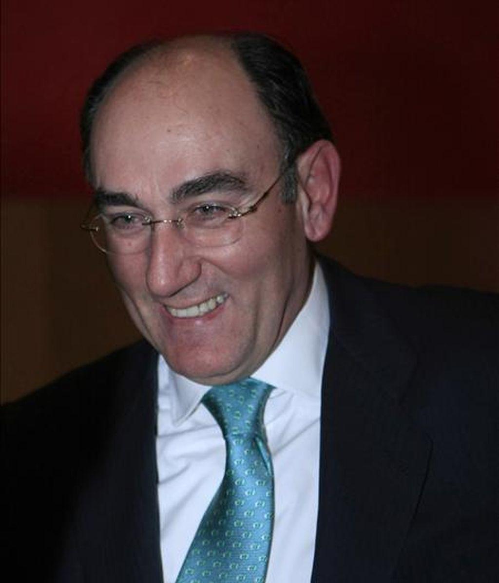 El presidente de Iberdrola, Ignacio Galán, en una imagen del pasado mes de noviembre. EFE/Archivo