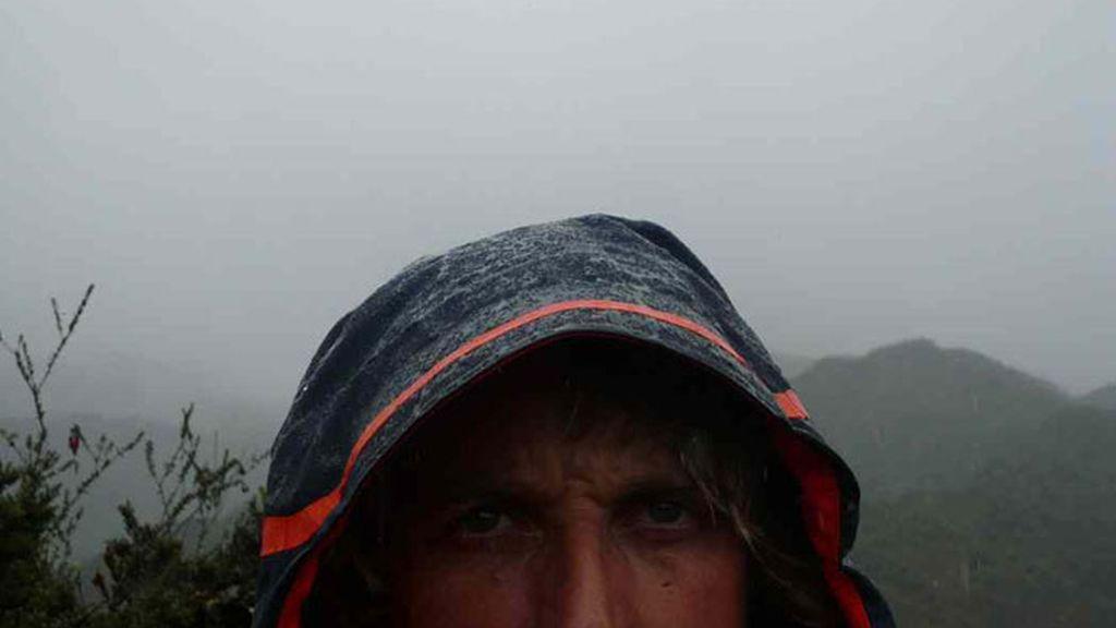 Momentos desesperantes de frio y lluvia