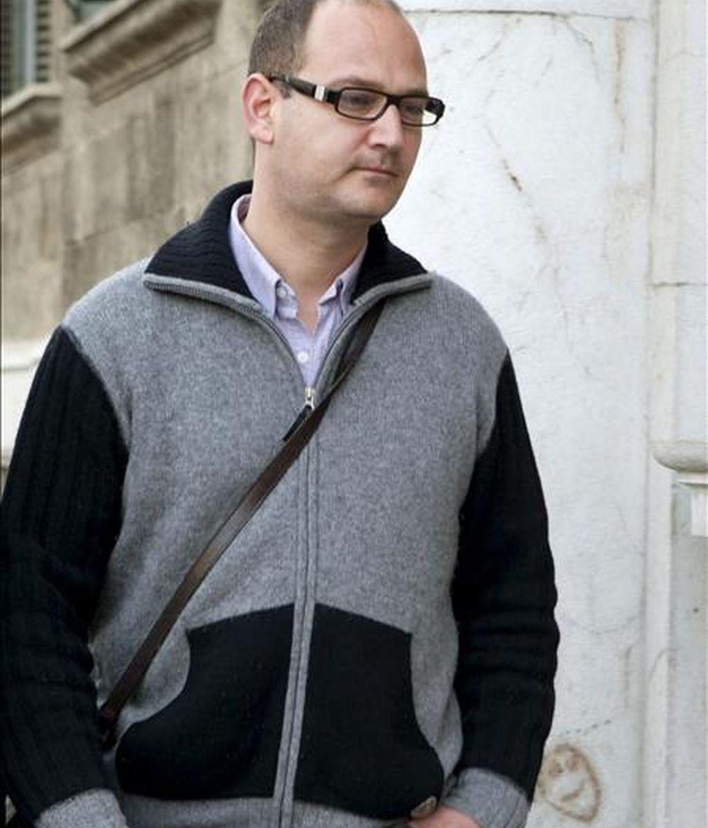 El ex director de Patrimonio del Consell de Mallorca, Juan Mas. EFE/Archivo
