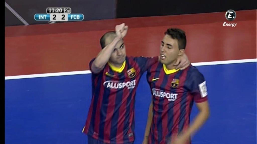 Gol de Wilde (Inter 2 - 2 Barcelona)