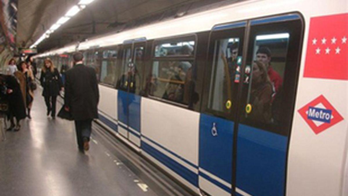 El Metro de Madrid, escenario de esta buena acción. Foto: Archivo.