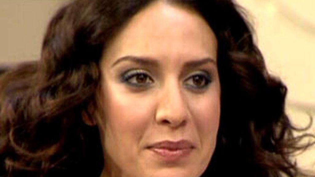 Mónica Naranjo en el plató de AR