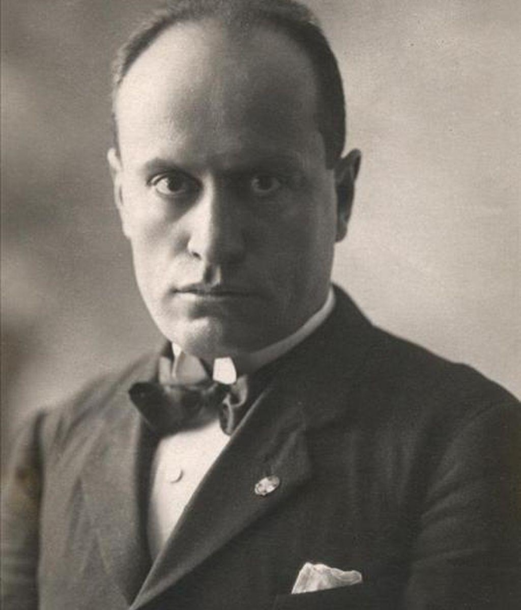 Fotografía de archivo del polítivo italiano, Benito Mussolini. EFE/Archivo