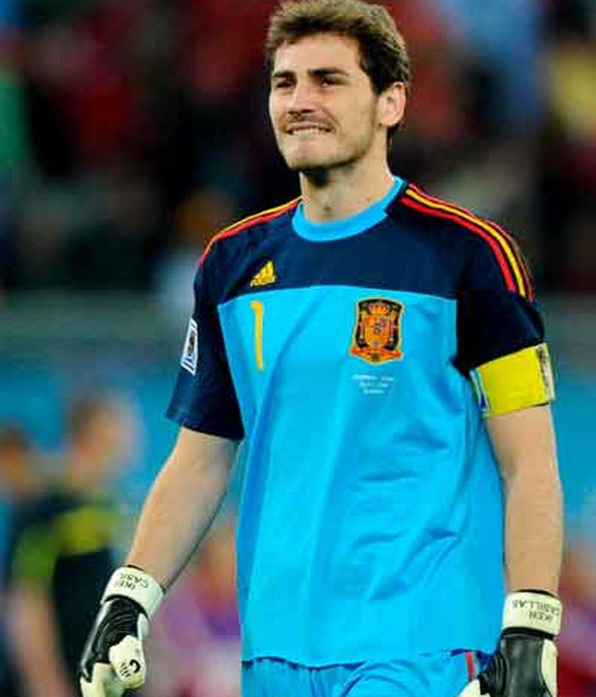 Casillas desea levantar la Copa del Mundo