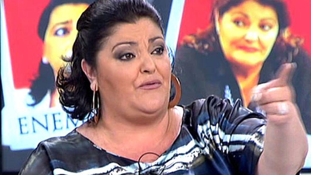 Charo Reina, lágrimas por una 'íntima enemistad'